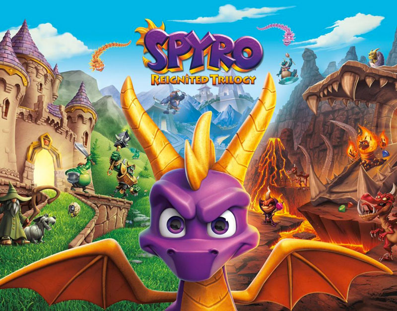 Spyro Reignited Trilogy (Xbox One), A Gamers Dreams, agamersdreams.com